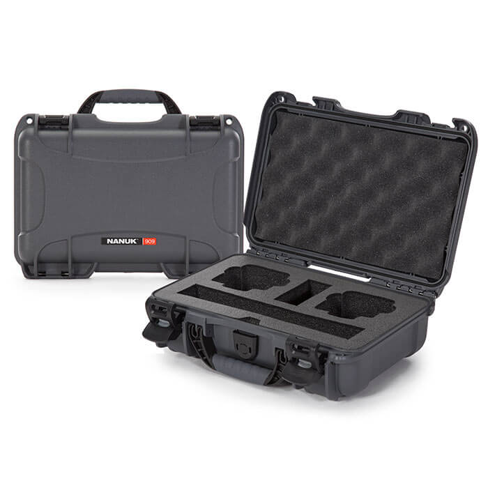 Nanuk Media 909 DJI™ Osmo Action  Case Graphite