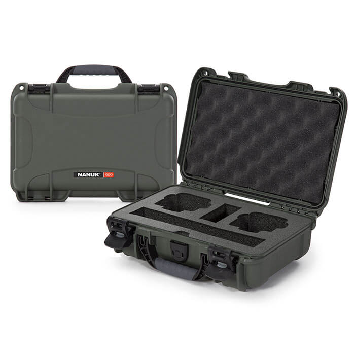 Nanuk Media 909 DJI™ Osmo Action  Case Olive