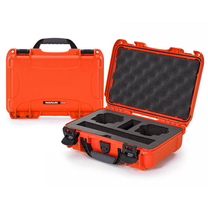 Nanuk Media 909 DJI™ Osmo Action  Case Orange