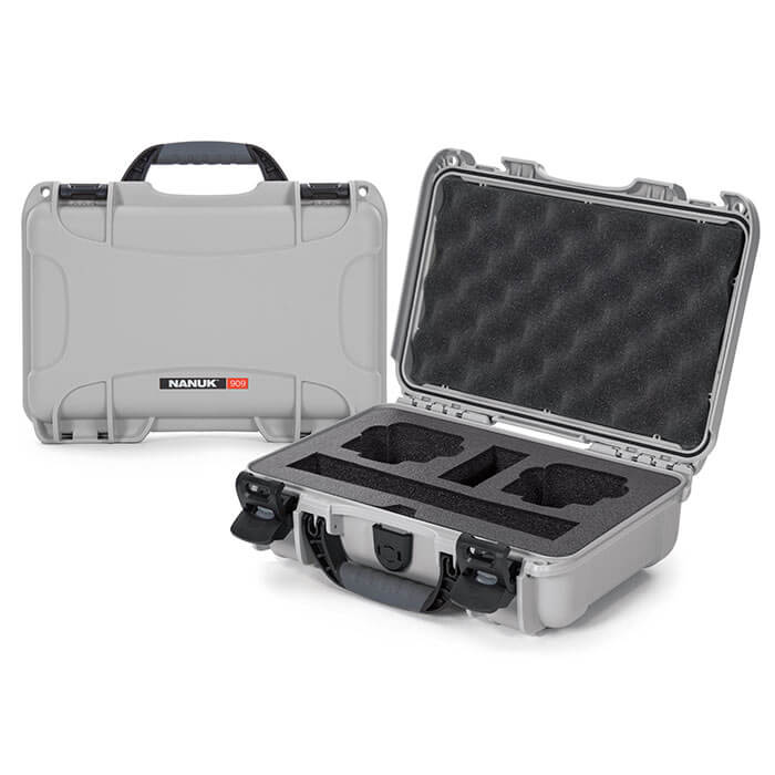 Nanuk Media 909 DJI™ Osmo Action Case Silver