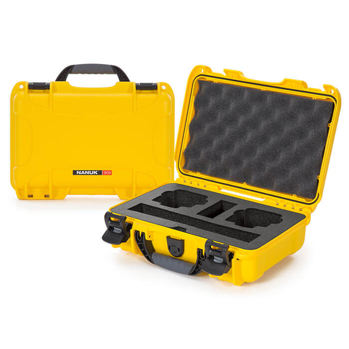 Nanuk Media 909 DJI™ Osmo Action  Case Yellow