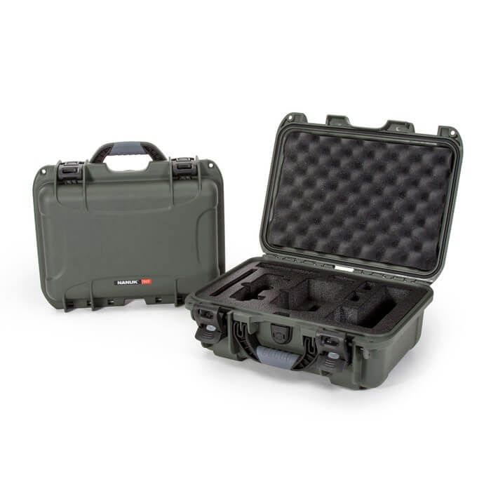 Nanuk Media 915 DJI Mavic Air Fly More Olive